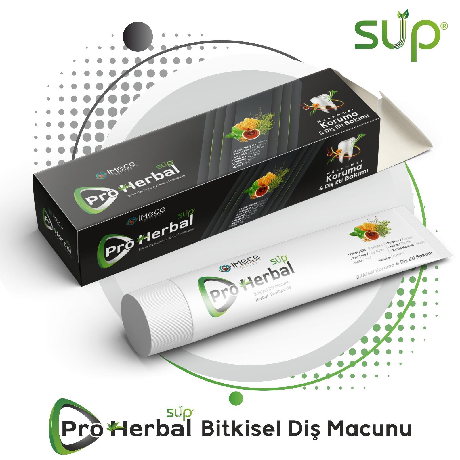 Sup Pro Herbal Bitkisel Diş Macunu