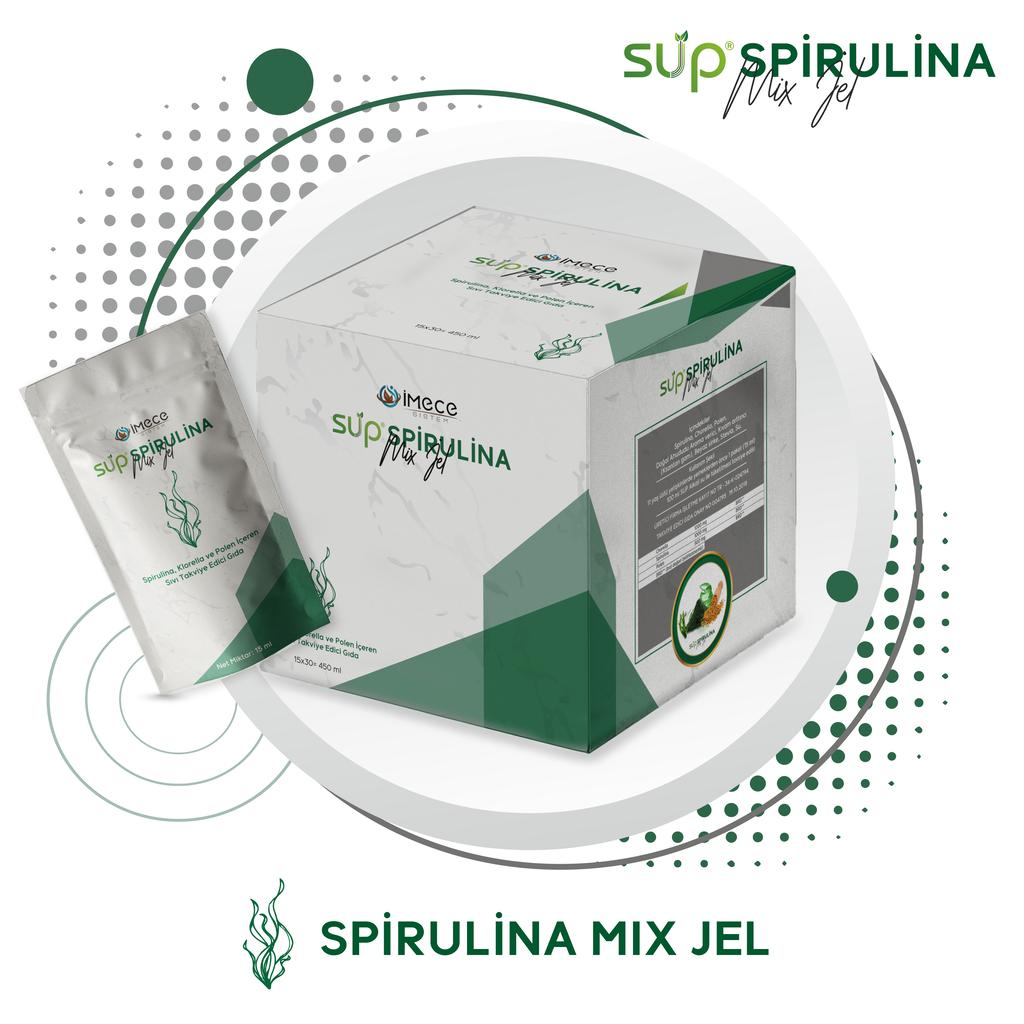 Sup Spirulina Mix Jel